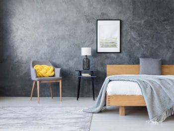 Light Grey and Bright Chair