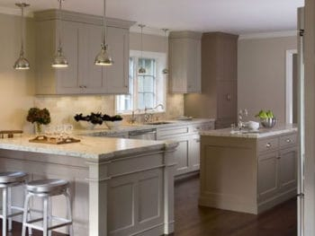 Taupe in Kitchen