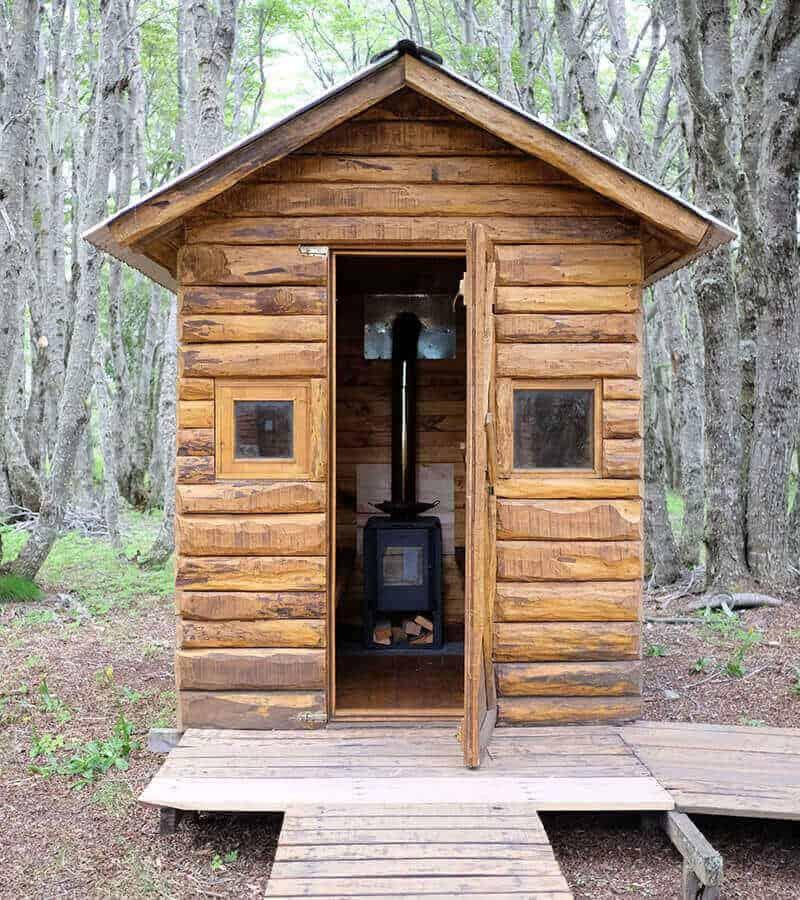 Burning Sauna
