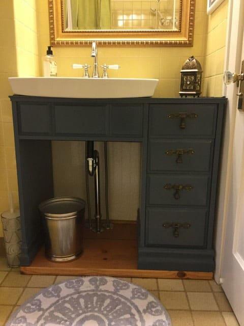 Desk Turn Bathroom Vanity
