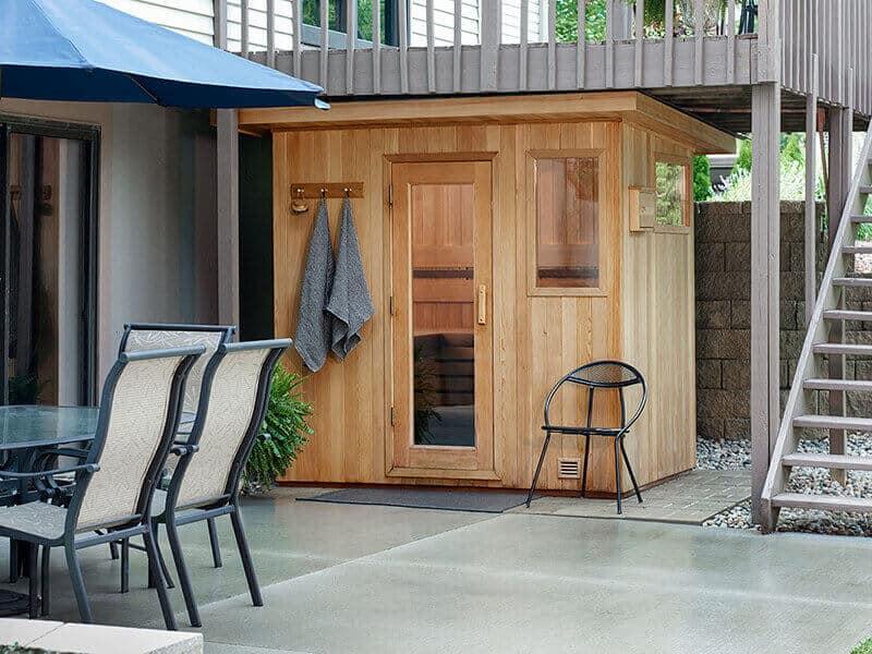 Outdoor Sauna Kit