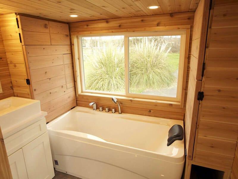 Sauna In The Bathtub
