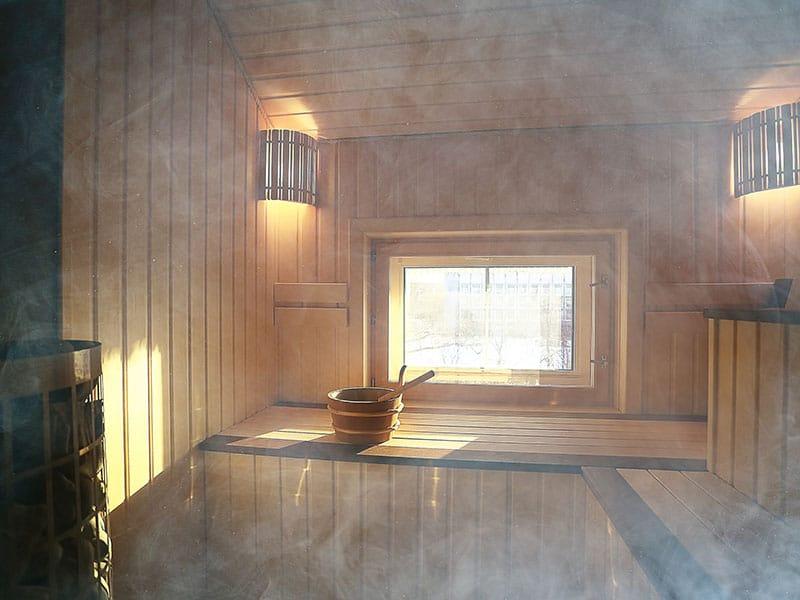 Sauna Wooden Interior
