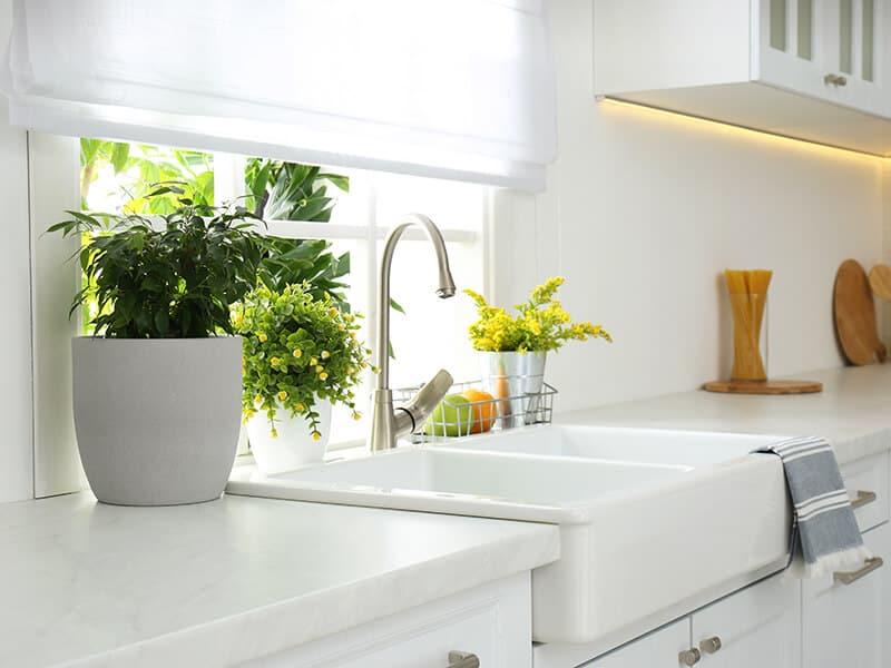 Beautiful White Sink