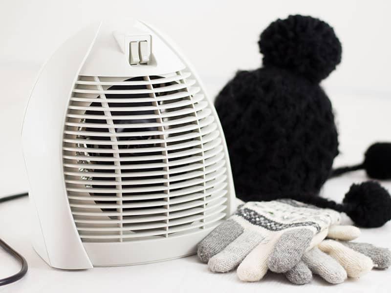 Electric Fan Heater Warming
