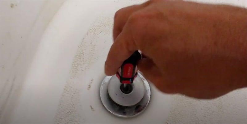 Remove Using A Screwdriver