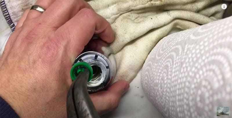 Take Flow Out Using Pliers