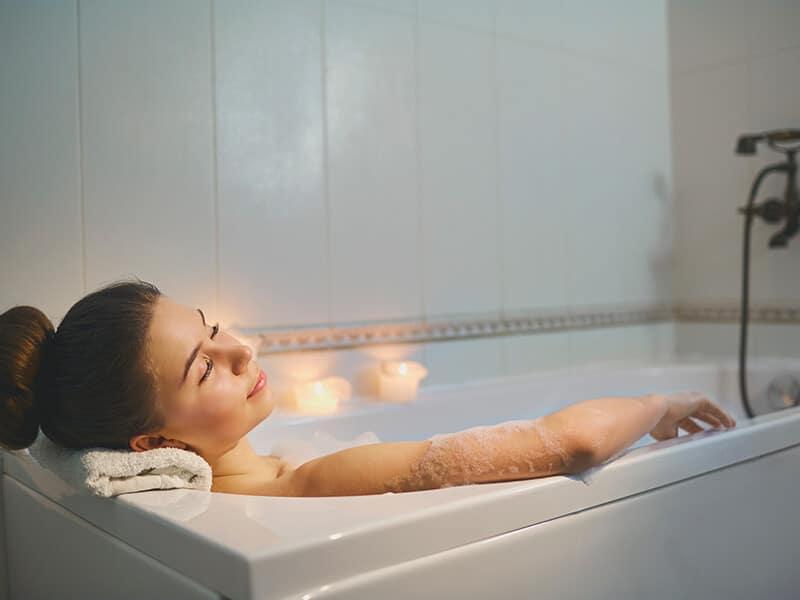 Resting Bathtub